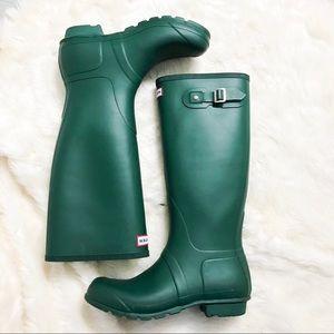Hunter | Tall matte boots